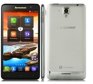Lenovo S898t Smartphone Android 4.2 MTK6589T Quad Core 5.3 Inch HD Screen 8GB Silver