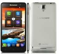 Lenovo S898t Smartphone Android 4.2 MTK6589T Quad Core 5.3 Inch HD Screen 8GB Silver