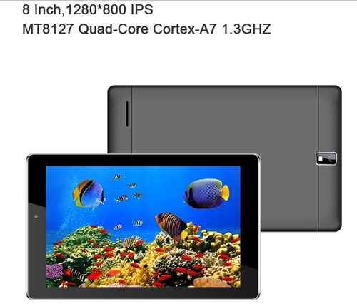 8 Inch table pc MT8127 Quad-Core DDR3 Android 4.4 wifi