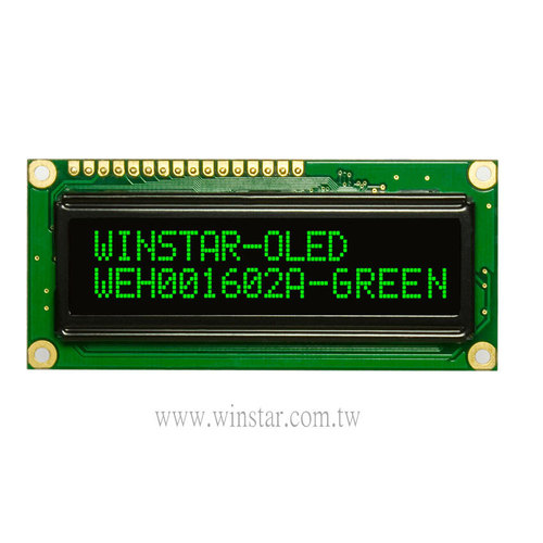 16x2 COB OLED Character Display