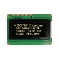 Yellow Green VATN LCD Modules