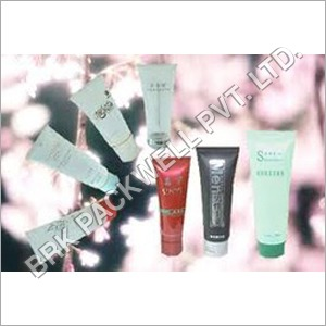 Plastic Cosmetics Tube