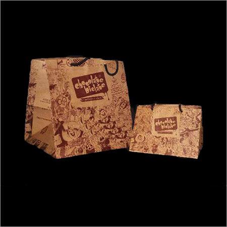 Printed Shopping Paper Bag