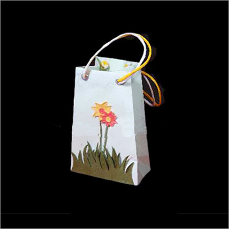 White Printed Paper Bags