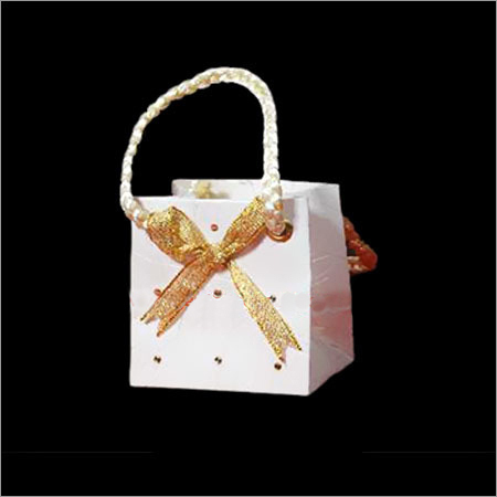 White Gift Paper Bags