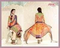 Mystic Forest All Over Print Cotton Silk Unstitch Salwar Kameez