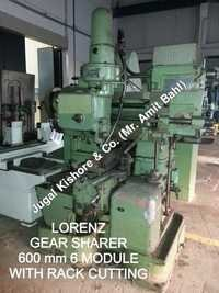 GEAR SHARPER WITH RACK CUTTING ATTACHMENT