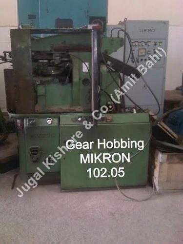 Gear Hobbing Mikron 102.05