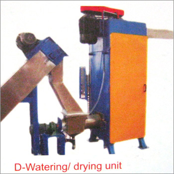 D-Watering Drying Unit