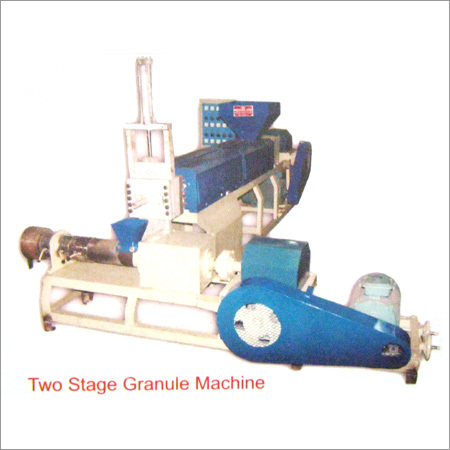Two Stage Granule Machine