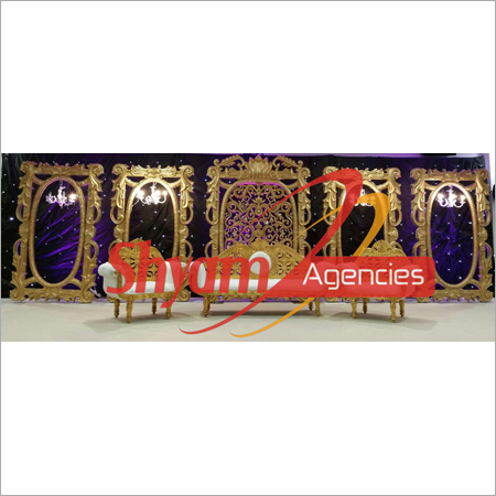 Rangoli Design Wedding Stage