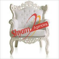Decorative White Wedding Chair