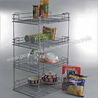 4 Shelf Kitchen Organiser