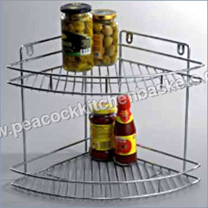 Hanging Kitchen Corner Shelf