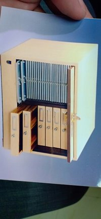 Dual Purpose Vertical Slide Cabinet