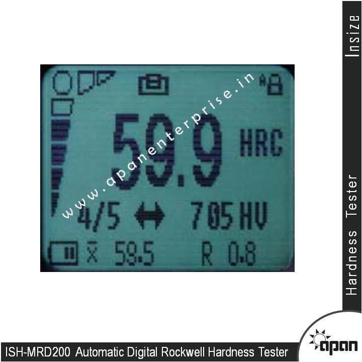Automatic Digital Rockwell Hardness Tester