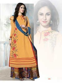 Designer Party Wear Palazzo Suit