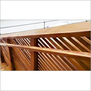 Wooden Hand Railing