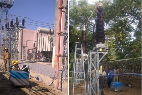 0.1 VLF testing of 66KV Cables DMRC