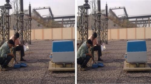 0.1 VLF testing of 132KV Cables Bhillai Steel Plant