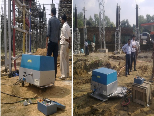 0.1 VLF testing of 66KV Cables