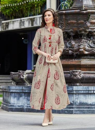 kajal style kurti moza vol 2 cataloglawn cotton