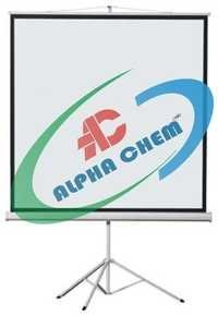 Projection Screen with Metallic Stand