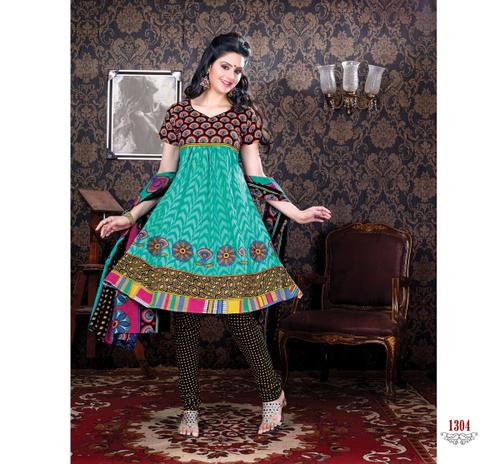 Fancy Cotton Dress Materials