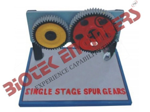 Single Stage Spur Gears