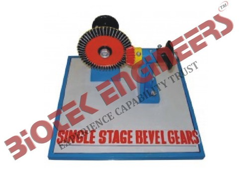 Single Stage Bevel Gears