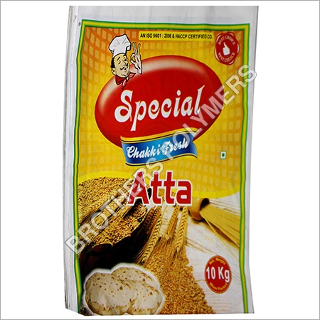 Plastic Wheat Flour Packing Pouch