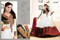 SATHIYA, GEORGETE PARTY WEAR SUITS