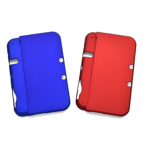 Hard Case Clear Skin Cover For Nintendo 3DSLL Blue/Red