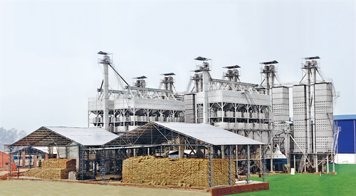 Industrial Paddy Parboling Plant