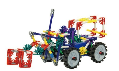 Building block TOYS Cars Robot handmade children's toy truck
