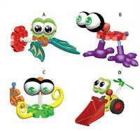 Multi model Children Kids Plastic Puzzle Building Blocks Bricks Educational Toy
