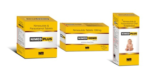 Nimed Nimesulide & Paracetamol Tablets
