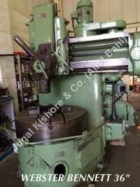 VERTICAL LATHE WEBSTER BENNETT  DH 36  INCH