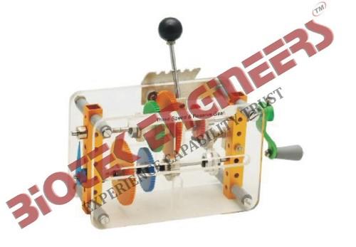 Gear Box (Three speed & reverse gear)