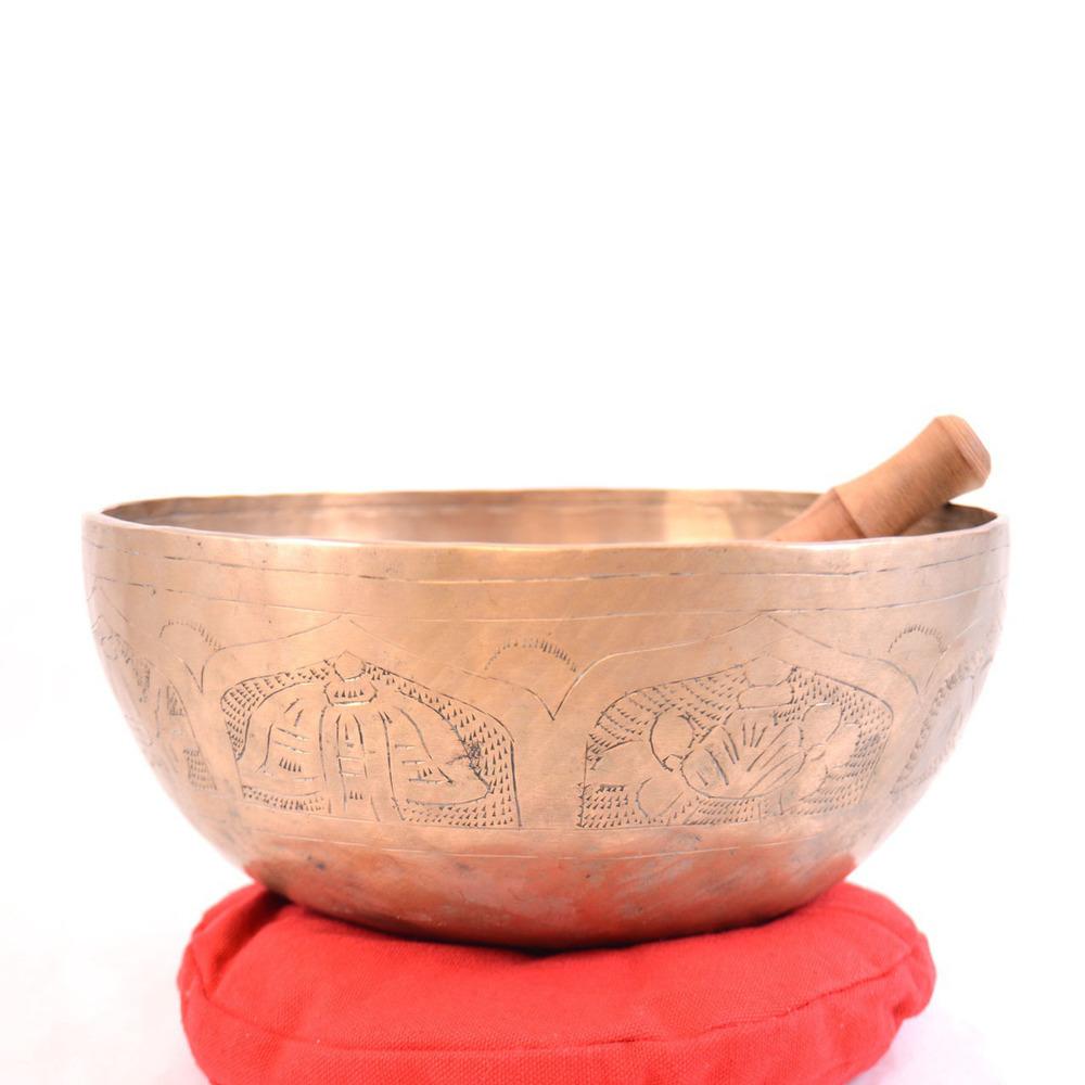 Brass Tibetan Singing Bowl