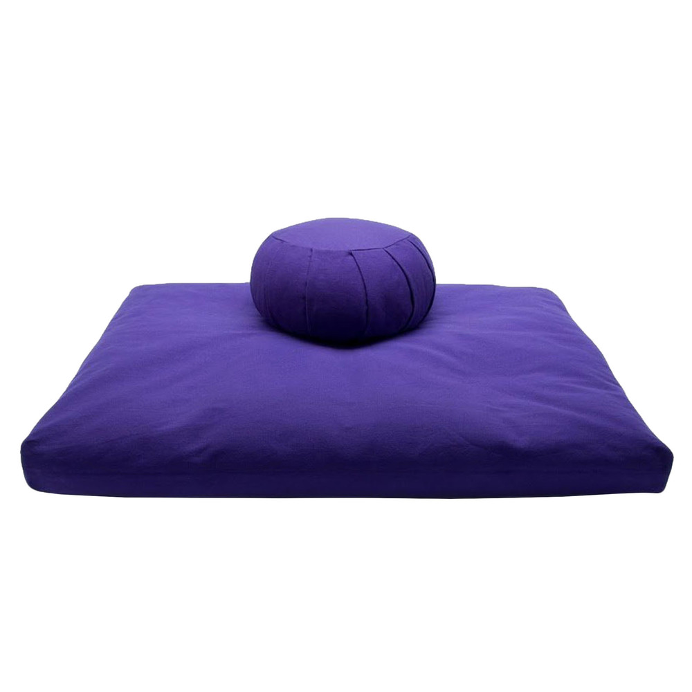 Meditation Cushion Set- Purple