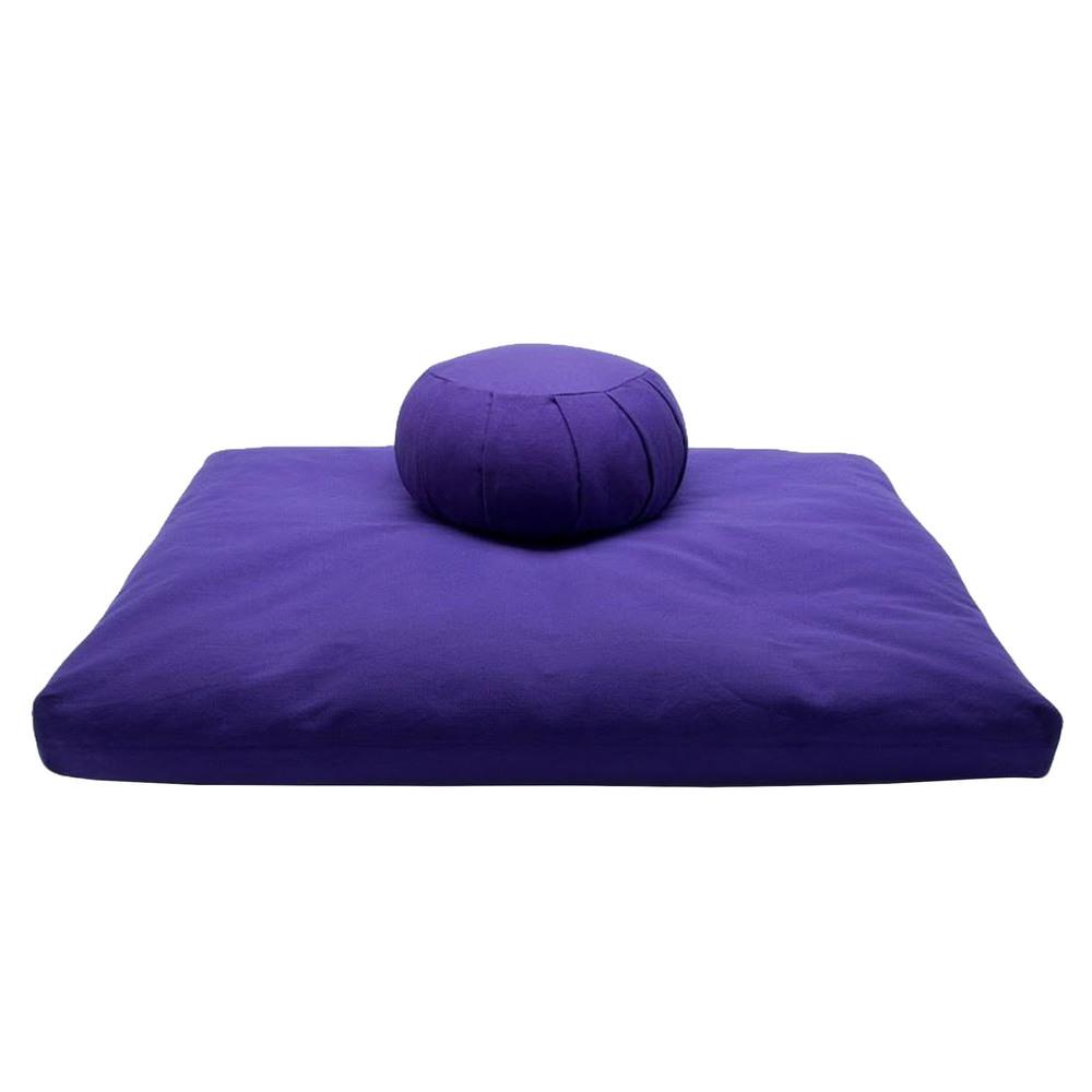 Meditation Cushion Set- Purple