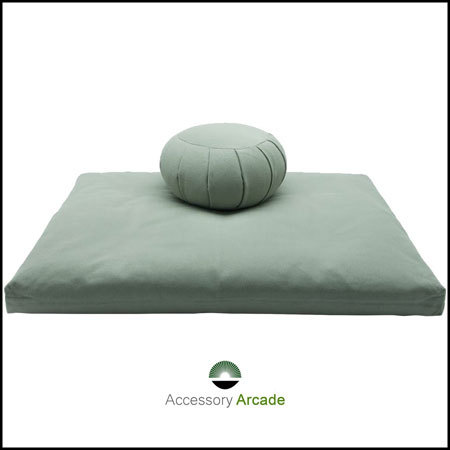 Meditation Cushion Set- L Green