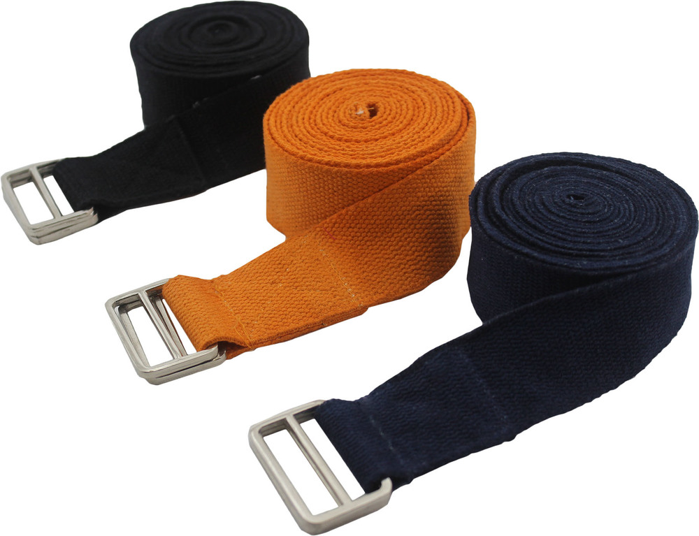 Yoga Strap/ Belt Metallic Adjuster