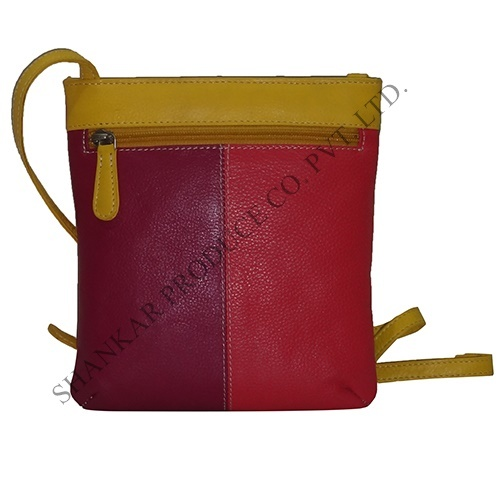 Leather Multi Color Bags