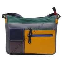 Multi Color Pu Leather Shoulder Bag