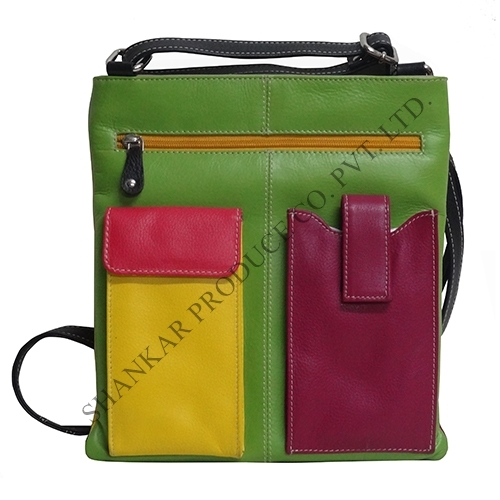 Leather Pick Pocket Sling Bag
