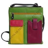 Women Leather Pocket book Sling Bag