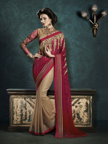 Wonderful Embroidered Sarees