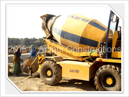 Self Loading Concrete Mixers On Hire